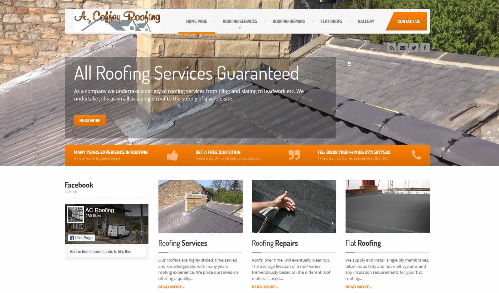 A Coffey Roofing